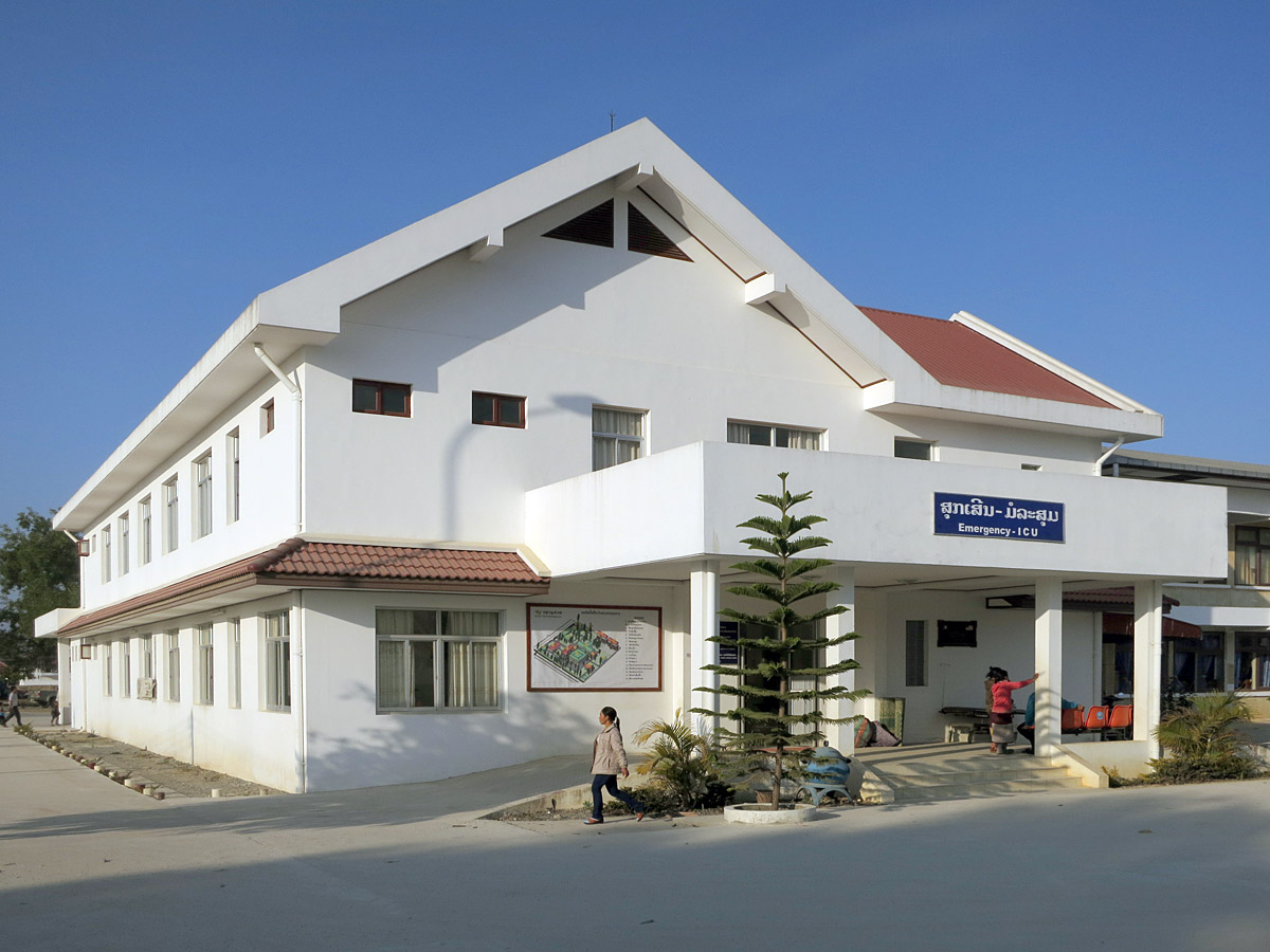 Provinzspital in Phonsavan, Laos