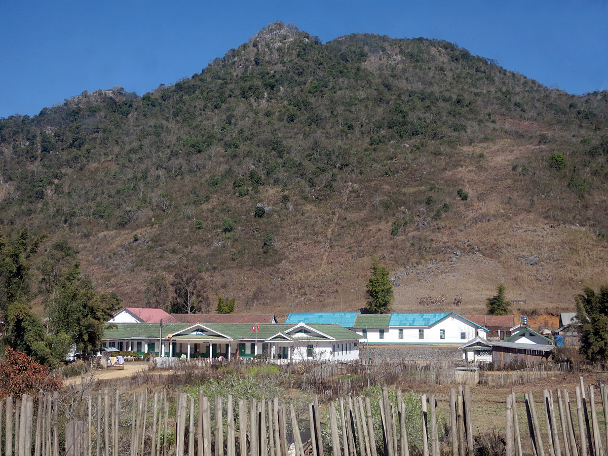The district hospital in Nong Het, Laos