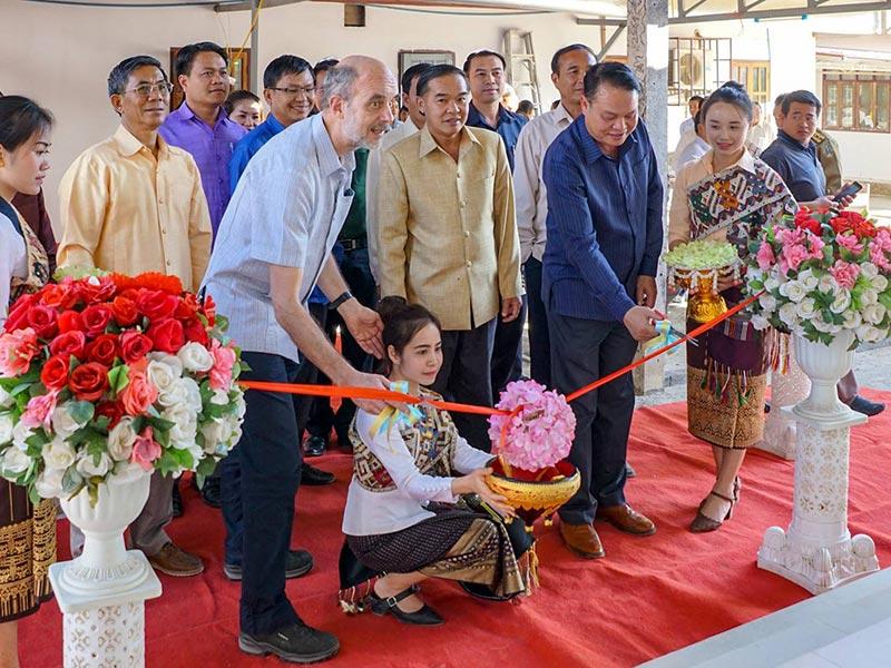 Eröffnungszeremonie für die neue Pädiatrie im Spital Muang Kham