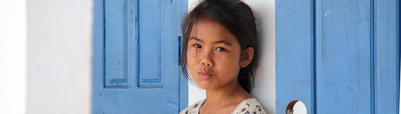 Kleinkind in Laos