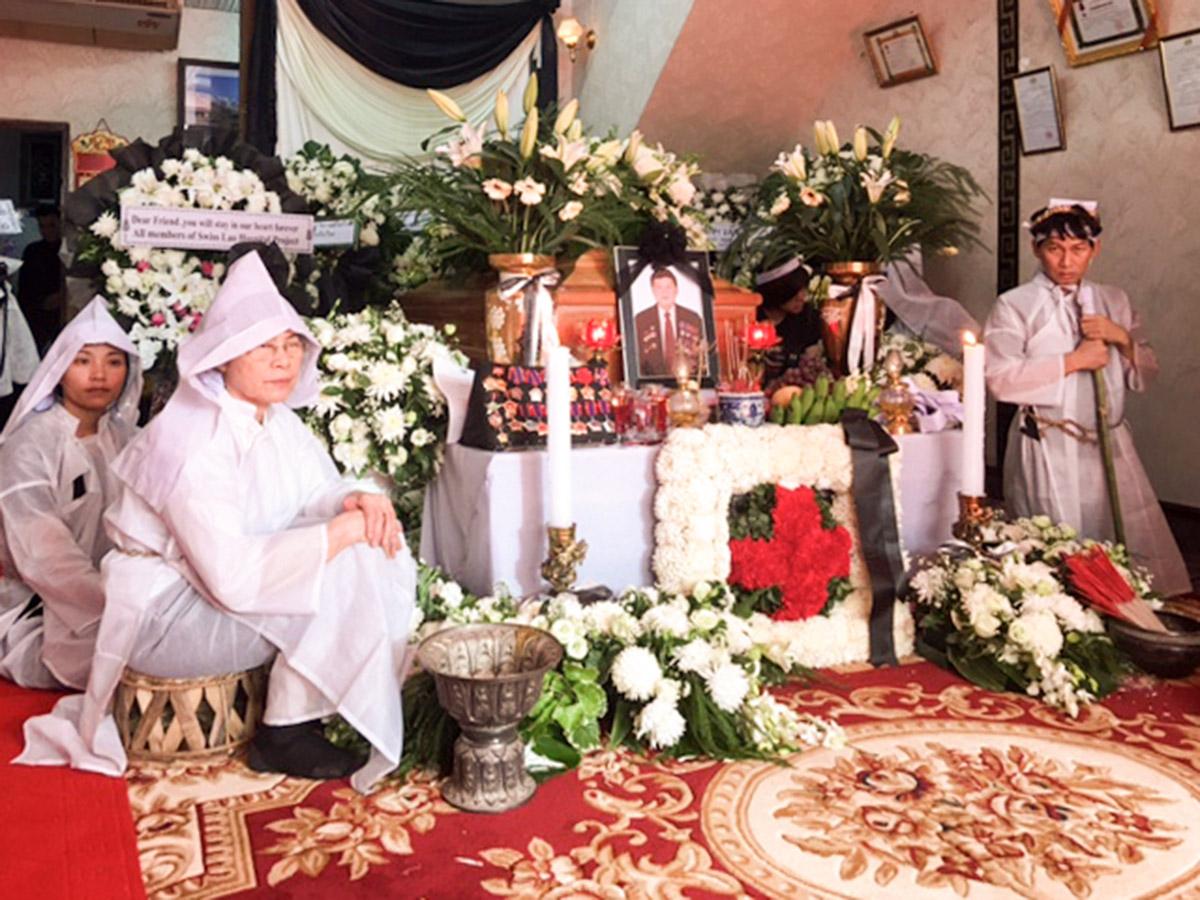 Trauerfeier für Prof. Bouavanh Sensathit