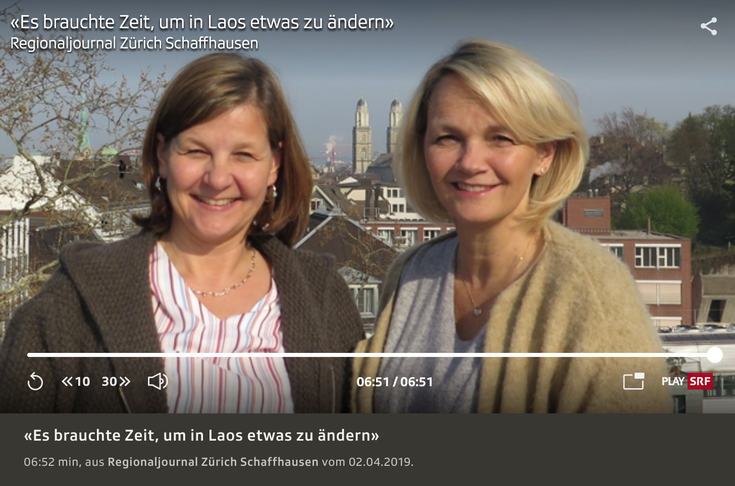 Claudia Reichmuth und Marion Mönkhoff vom Neonatologie-Team des Swiss Laos Hospital Project