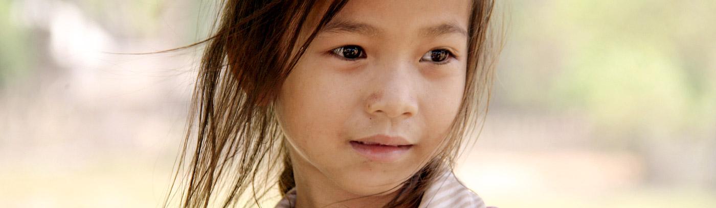 Mädchen in Laos