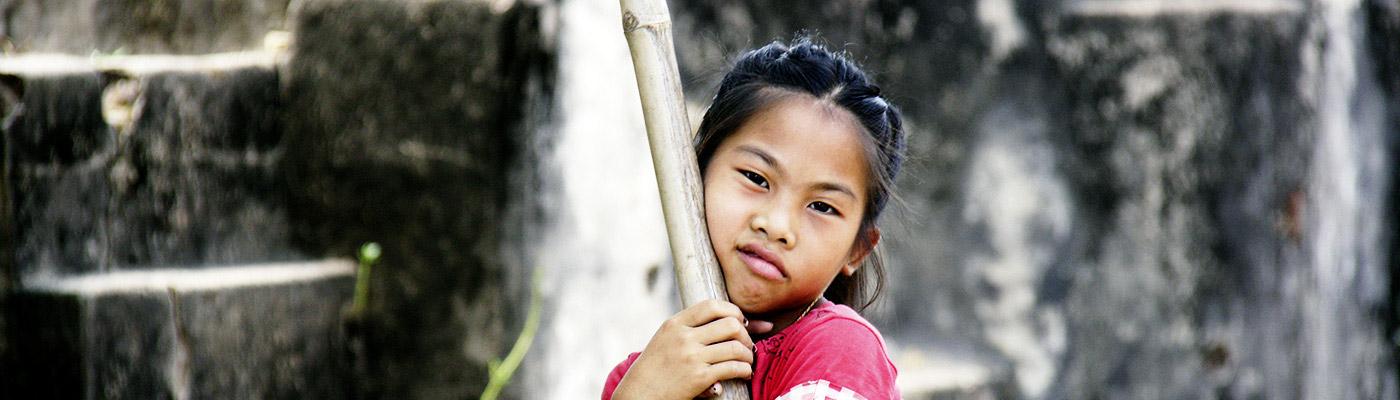 Laotisches Mädchen