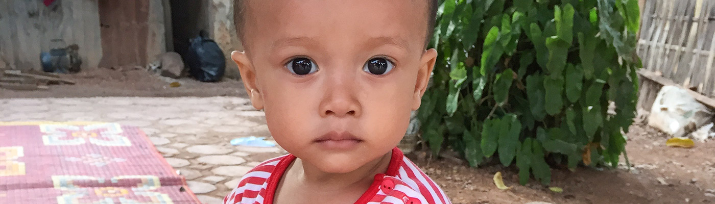 Toddler in Laos