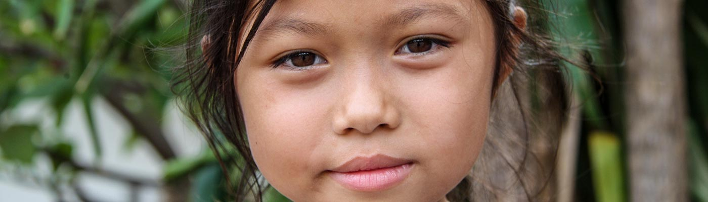Girl in Laos