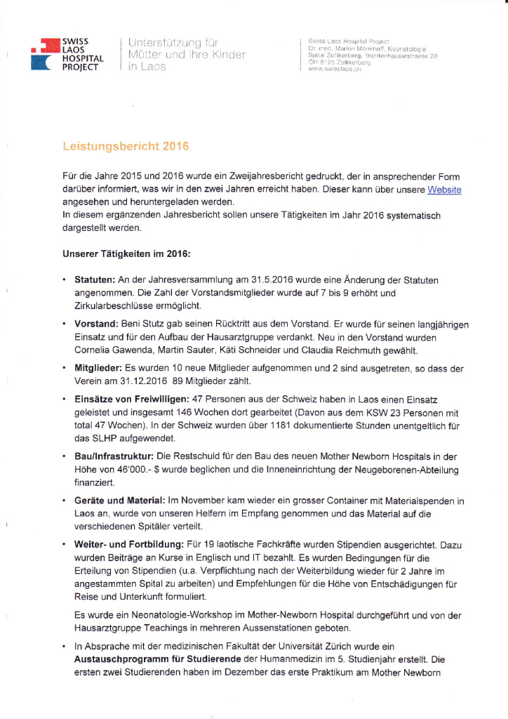 thumbnail of SLHP_Leistungsbericht_2016