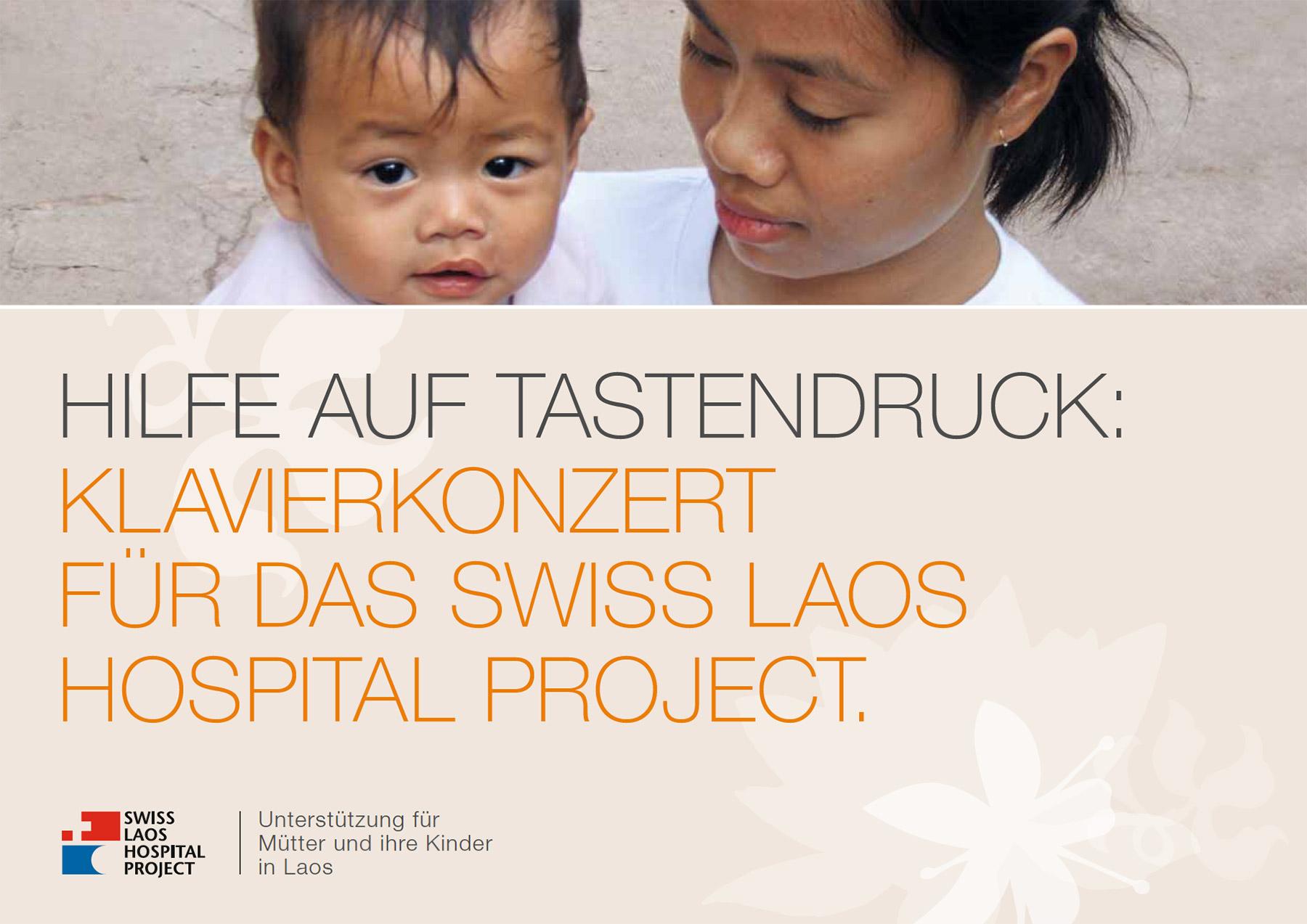 Flyer für SLHP Benefizkonzert in der Tonhalle Zürich 2010