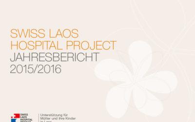 Der Jahresbericht 2015/2016 ist erschienen