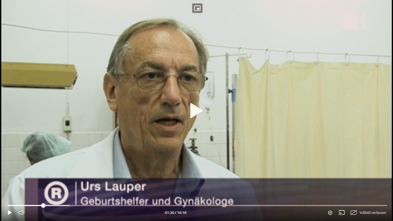 Urs Lauper in der Sendung «Rundschau» vom 11.02.2009