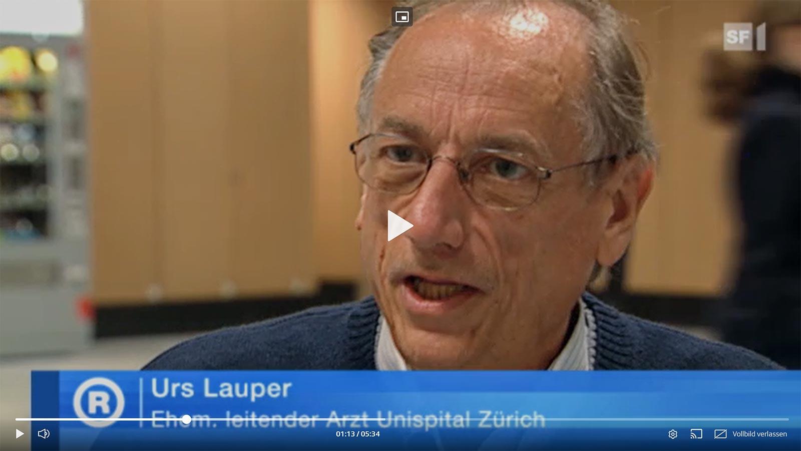 Urs Lauper in der Sendung «Rundschau» vom 12.05.2010