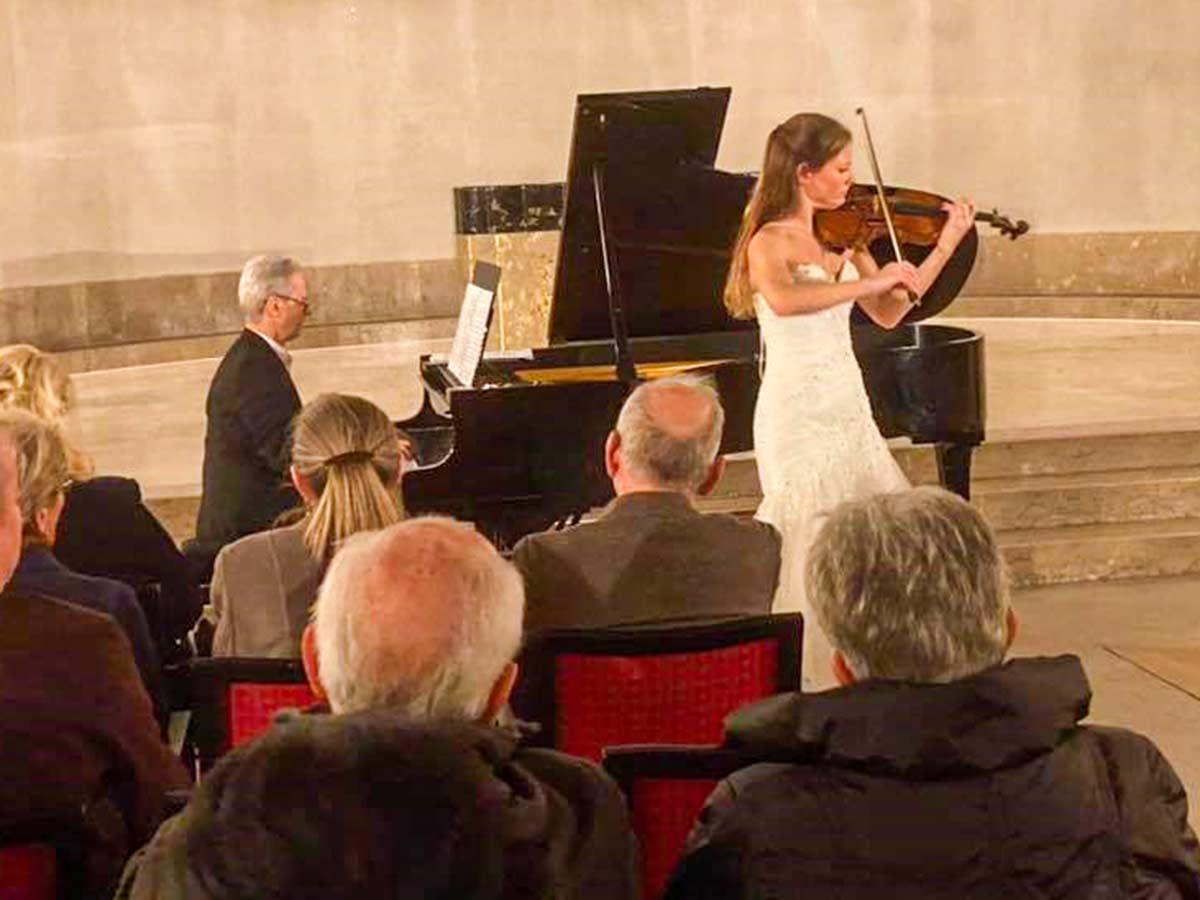 Konzert mit Violine und Klavier