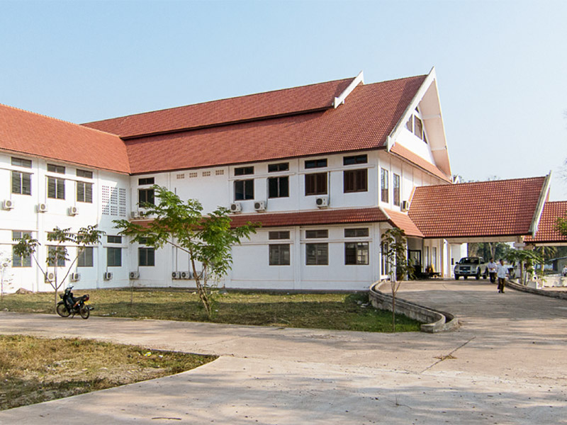 Das neue Mother and Newborn Hospital in Vientiane, Laos