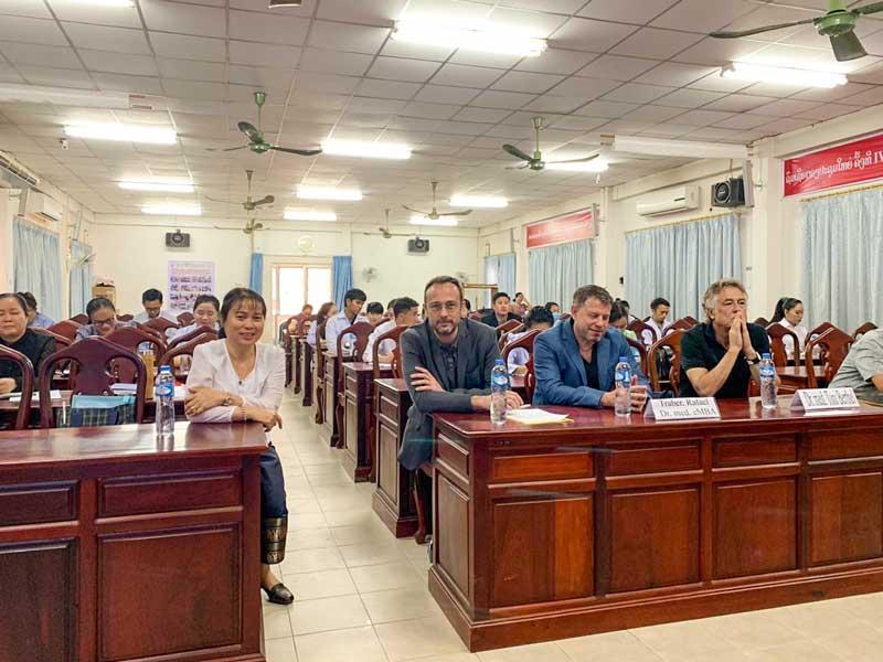Training im Mahosot-Spital im Februar 2020