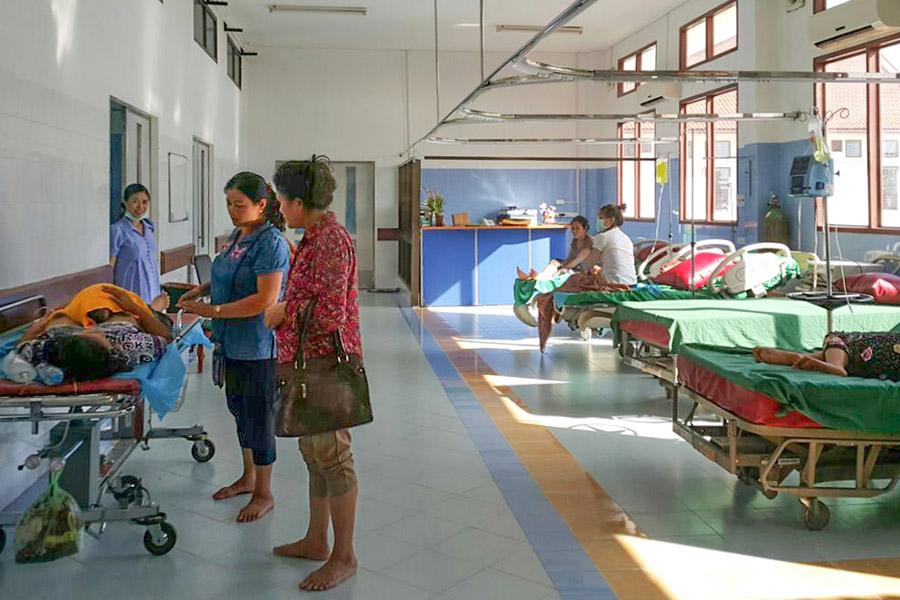 Die ersten Tage im neuen Mother and Newborn Hospital.