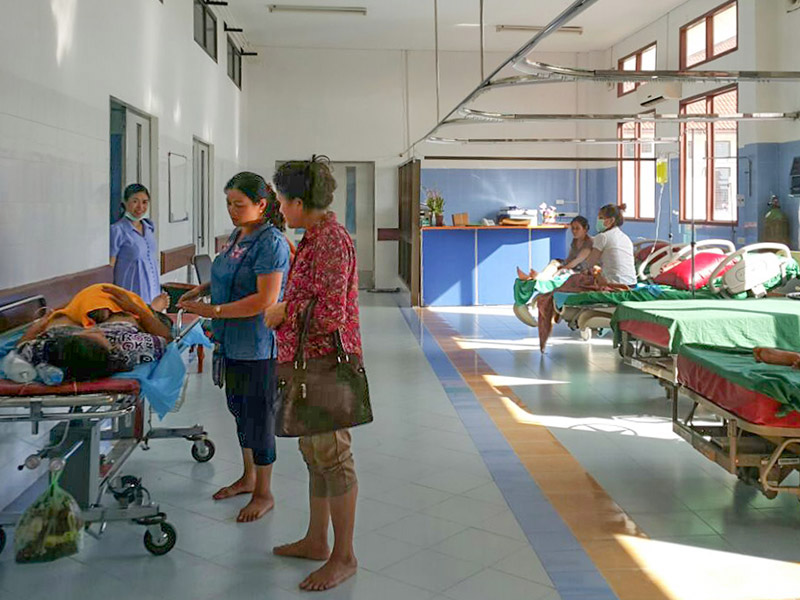 Das neue Mother and Newborn Hospital, Vientiane (2015)