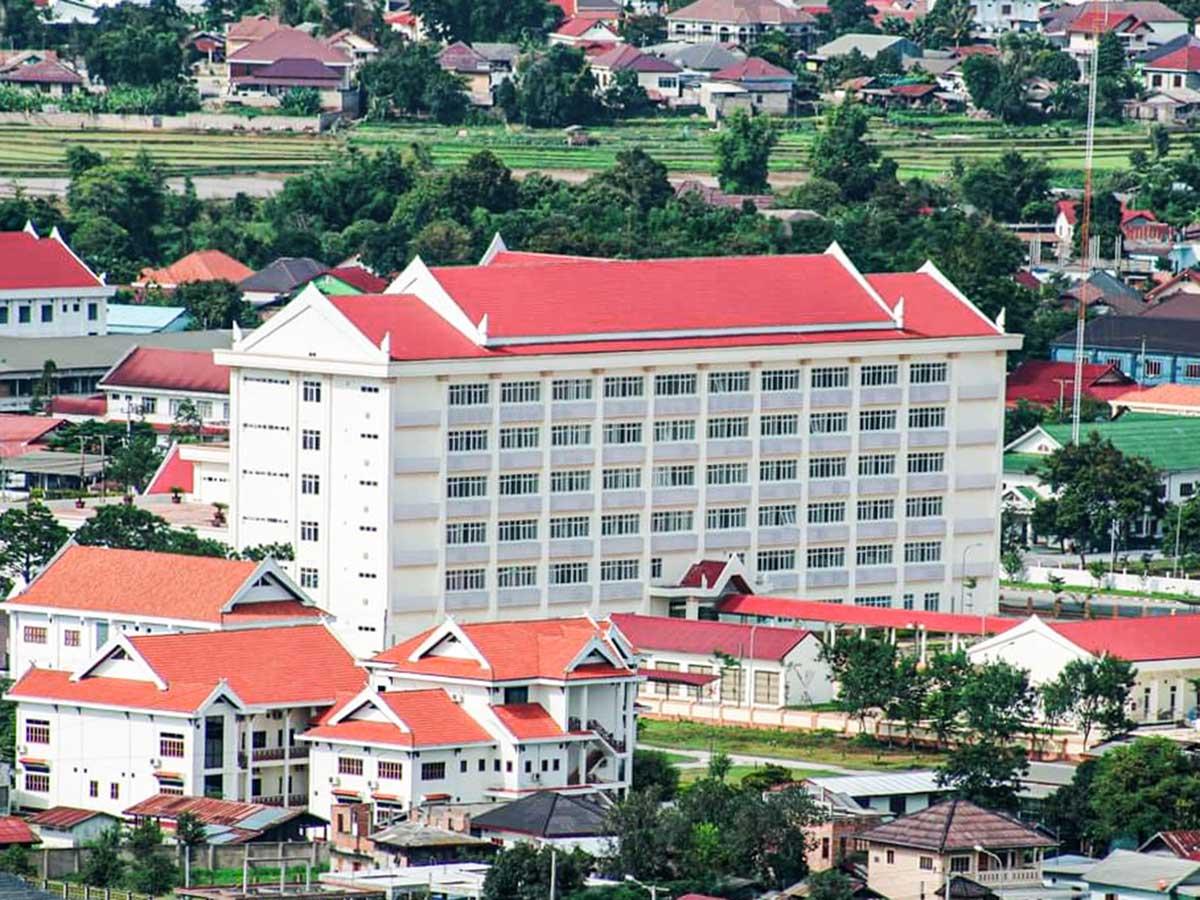 Xieng Khoung Provincial Hospital in Phonsavan, Laos (Neubau)